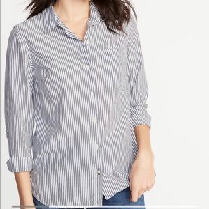 Old Navy Classic Button Front Shirt